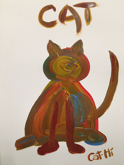 Faceless Kitty