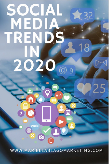 10 Top Social Media Trends in 2020