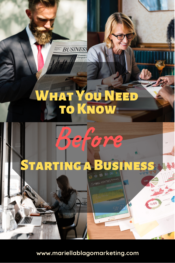 What you need to know before starting a business