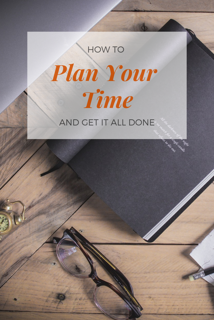 plan your time to increase productivity