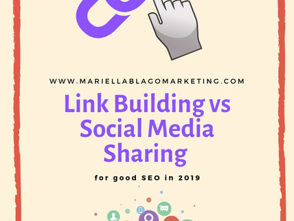 Link Building vs Social Media Activity for Good SEO in 2019