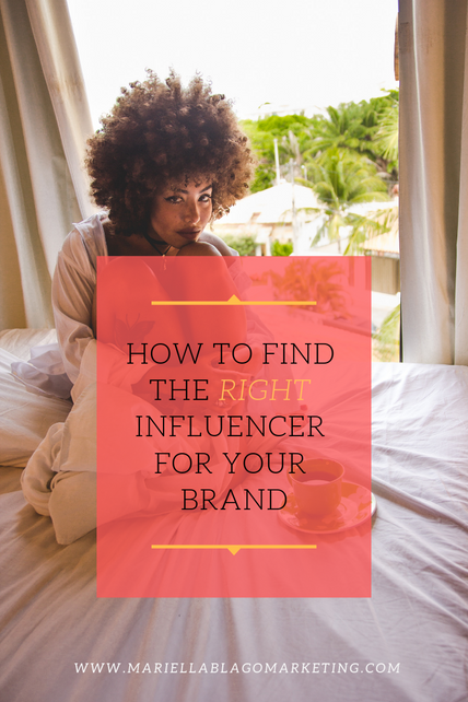 How to Find the Right Influencer for your Brand