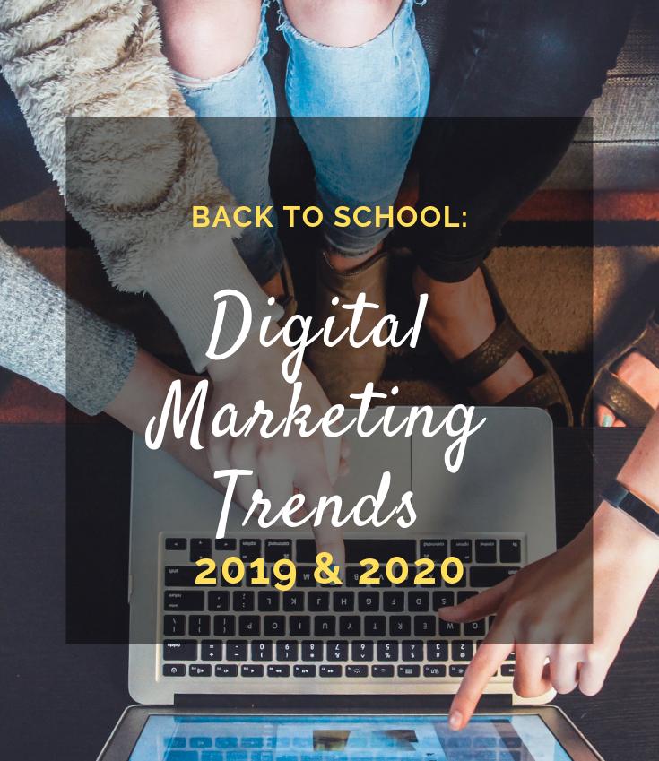 Digital Marketing Trends 2019 & 2020