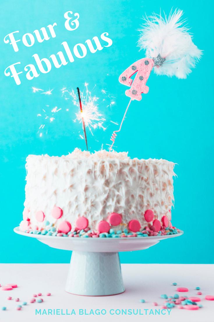 mariella blago consultancy birthday cake
