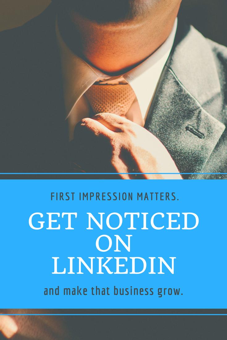 Get noticed on Linkedin 2018