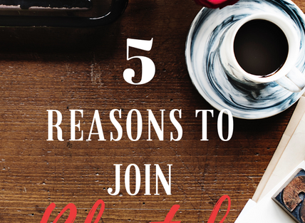 5 Great Reasons to Join Blogtober