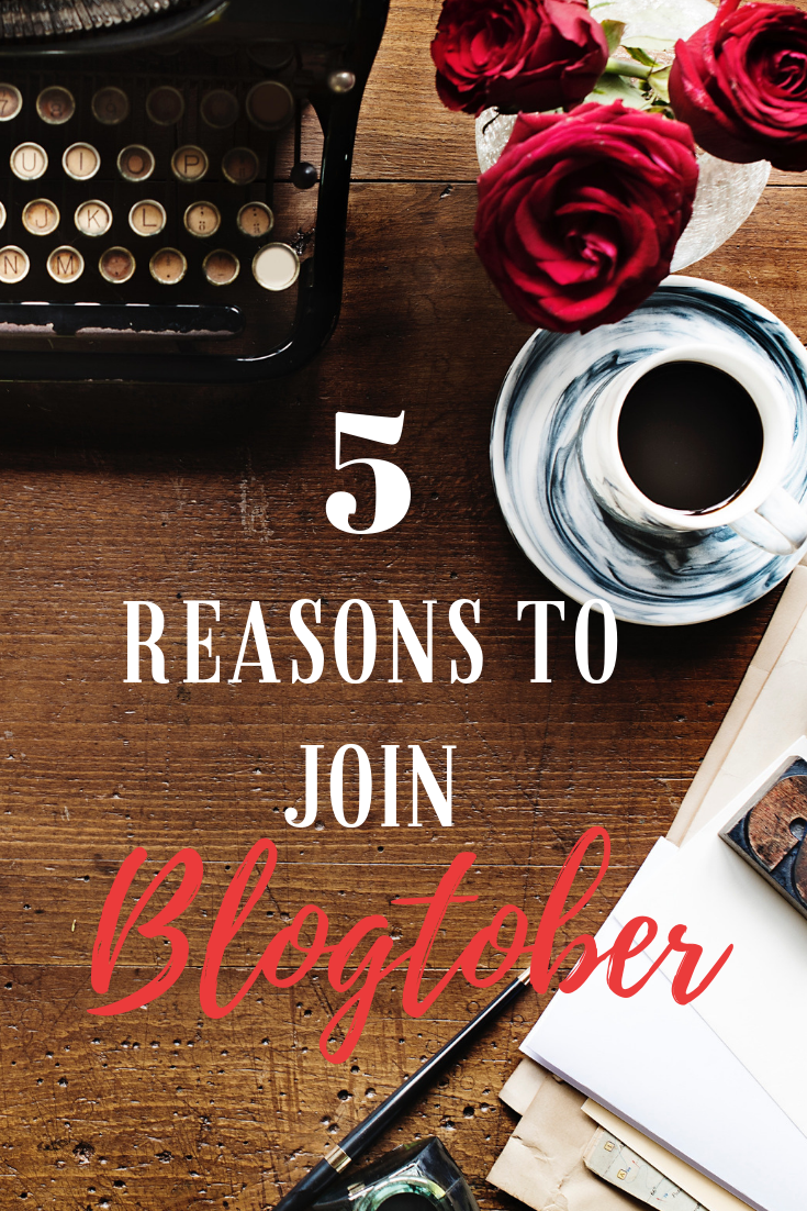 reasons to join blogtober