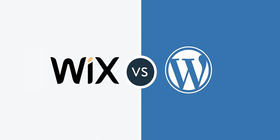 DIY Website Design Wix & Wordpress Workshop