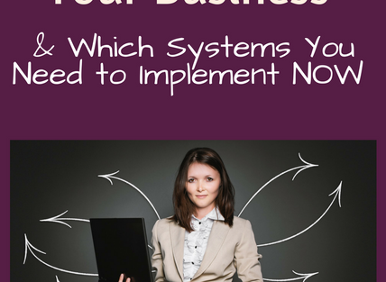 5 Reasons You Need Systems in Your Business & Which Systems You Need to Implement NOW