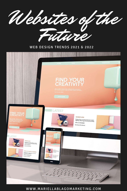 website design trends 2021 and 2022