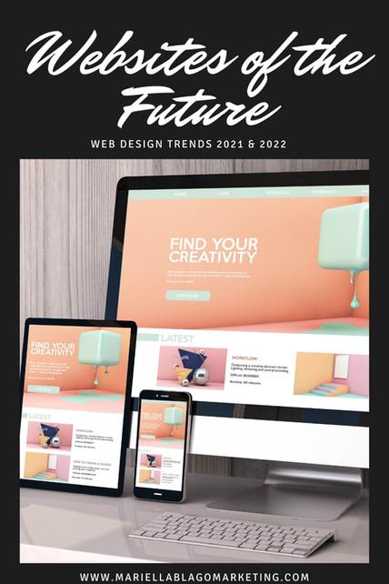 Websites of the Future: Web Design Trends 2021 & 2022