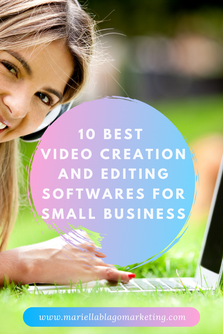 Best video creation and editing softwares for small business