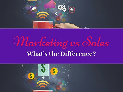 Marketing vs Sales - What's the Difference