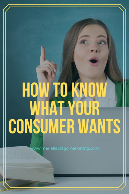 How to Know What Your Consumer Wants