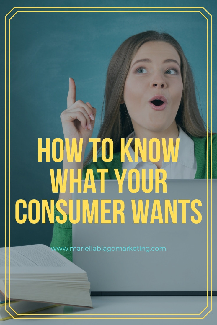 how to know what your ideal client wants