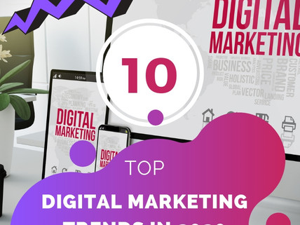 10 Top Digital Marketing Trends in 2020 and Beyond