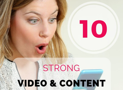 10 Strong Video and Content Marketing Trends in 2020