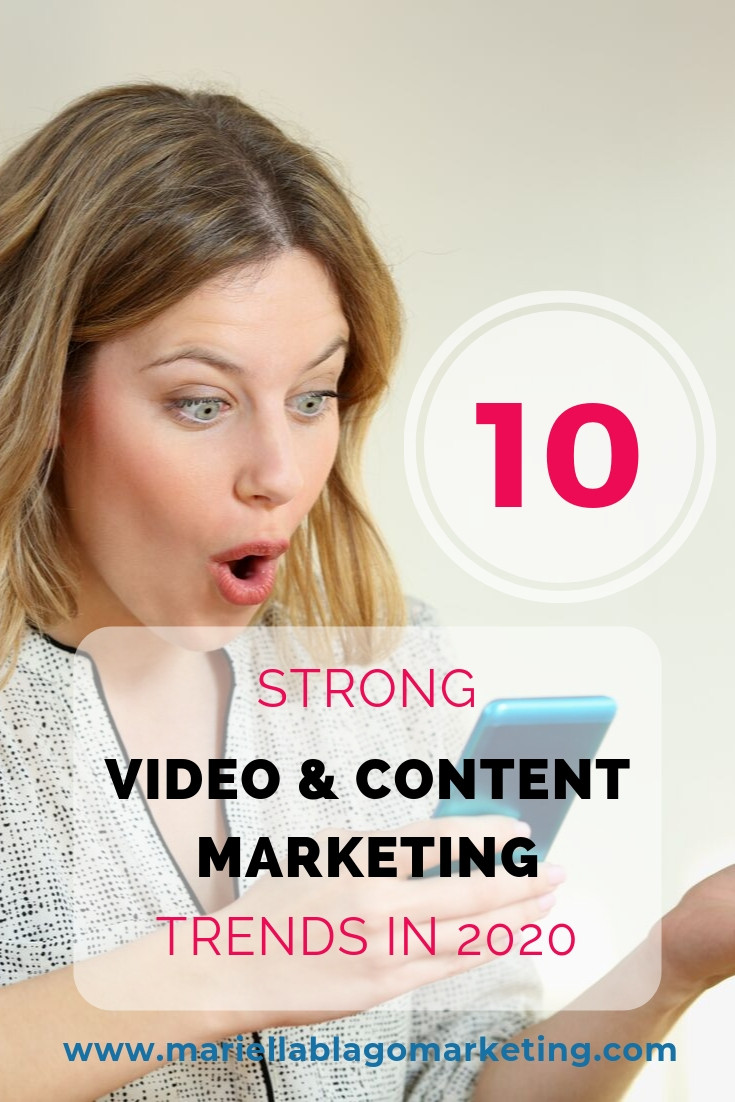 video and content marketing trends 2020
