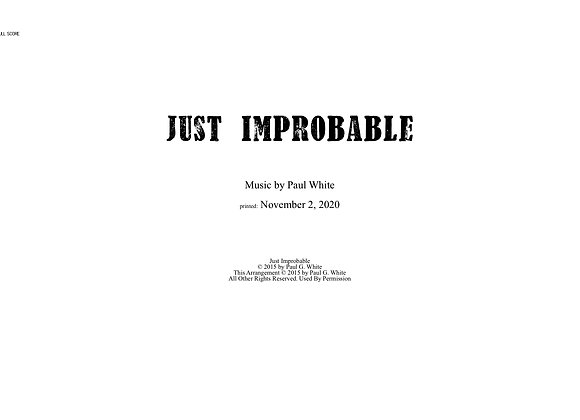 Just Improbable