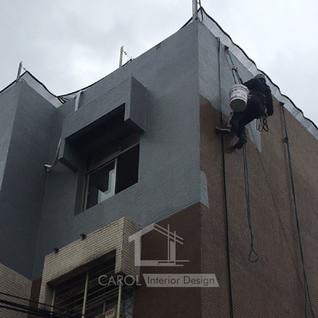 防水工程, 外牆防水-01