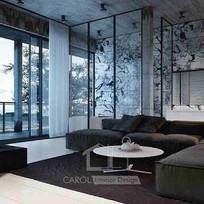 室內設計,室內裝修風格 - 型格風-03