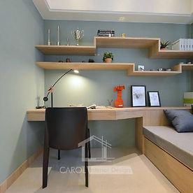 書房設計, 書房裝修 -06