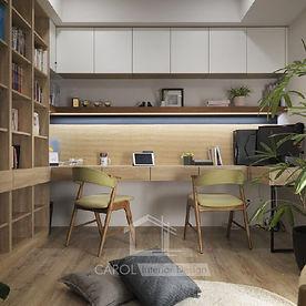 書房設計, 書房裝修 -01