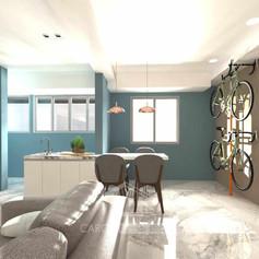 家居裝修,裝修工程-飯廳04