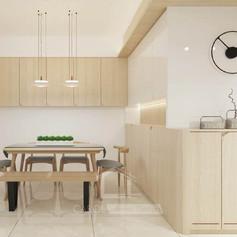 家居裝修,裝修工程-飯廳02