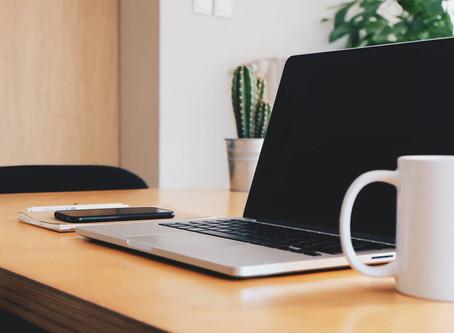 Créer son espace de travail à la maison