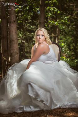 Bold and Radiant Bridal Boudoir