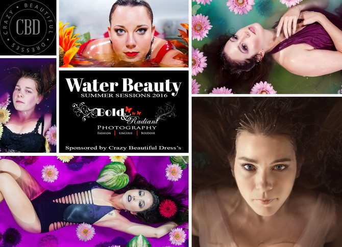 Water Beauty Sessions ... Get your best dress ready!