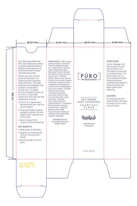 PURO Charcoal Scrub Carton