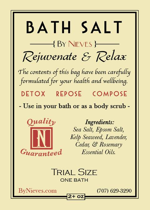 Bath Salt Trial