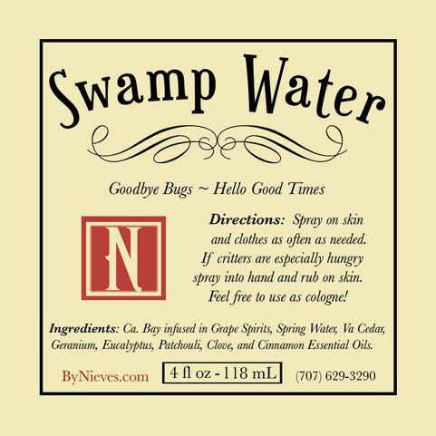 Swamp Water Bug Spray