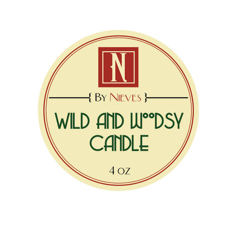 Wild and Woodsy Candle