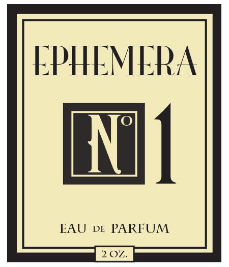 Ephemera  No 1