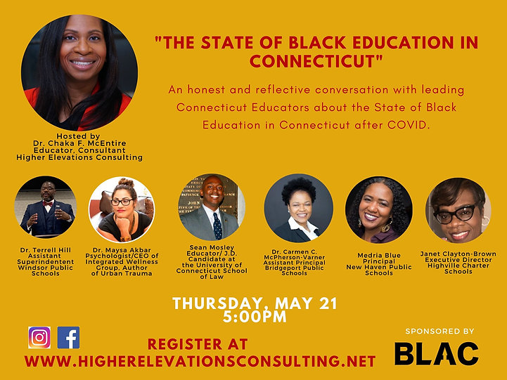 The State of black education in Connecti