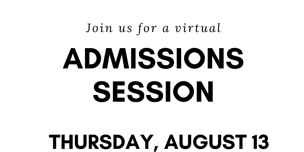 University of Connecticut Admissions Session