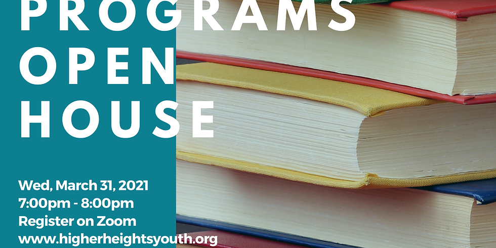 Join our Academic Programs Open House