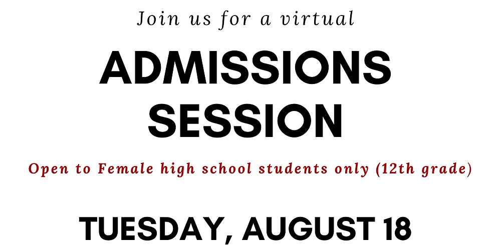 Spelman College Admission Session