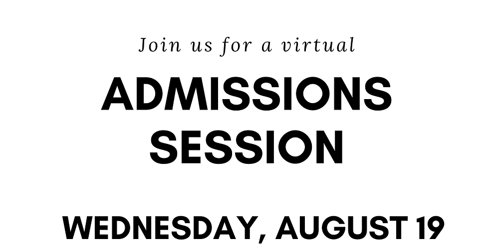 Southern Connecticut State University Admissions Session