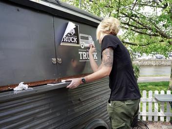 The TRUCK – att måla på en food truck.