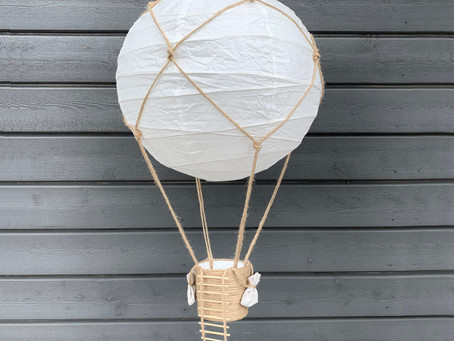 DIY – Ballonglampa