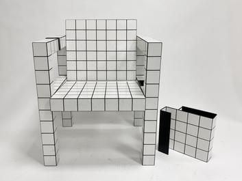 The tile chair - RUT