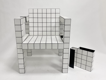 The tile chair - RUT