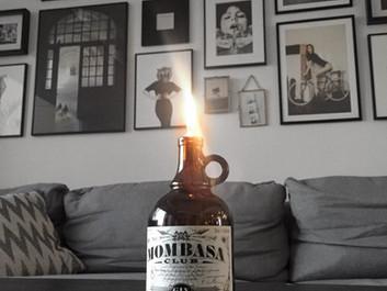 DIY – Oljelampor av gamla flaskor.