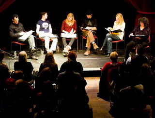 Public script reading at IPSWICH FILM DAY