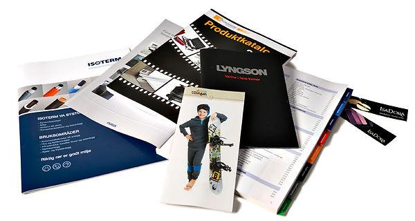 Grafisk design, produktfoto og illustrasjon