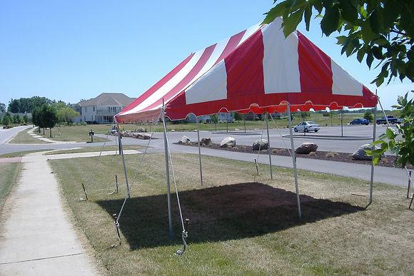 15 x 15 Pole Tent